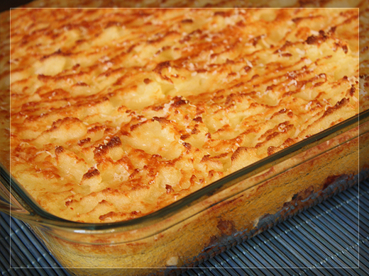 Recetas maziusma blog archive pastel de patatas - Pure de patatas y calabaza ...
